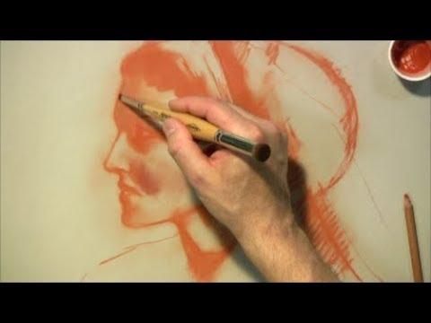 Zeichnen und Malen mit Kohle und Rötel - Einführung