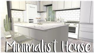 The Sims 4: Speed Build // MINIMALIST APARTMENT + CC Links