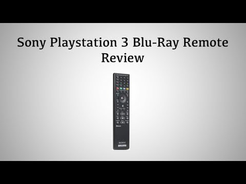 playstation BD remote review and setup