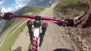 preview picture of video 'Downhill Bikepark Livigno 2013'