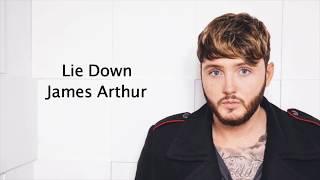 Lie Down - James Arthur {Lyrics}
