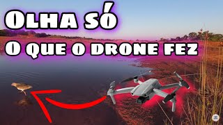 Olha só o que o drone fez (incrível ) dji fpv