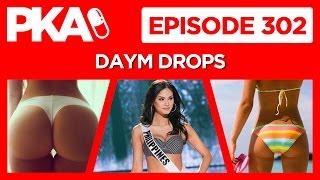 PKA 302 w/Daym Drops Miss Universe/Miss Piggy, Back Burgers, TV Nostalgia