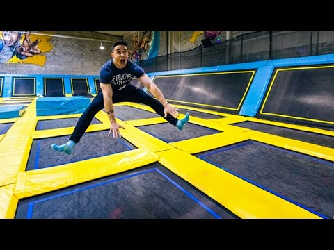 le trampoline park le plus fun. Black Bedroom Furniture Sets. Home Design Ideas