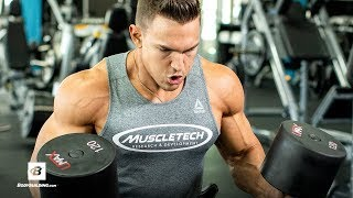 High Volume Chest Workout | Abel Albonetti by Bodybuilding.com
