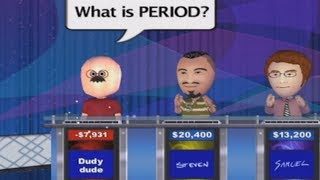 dudy dude goes on jeopardy using wii speak