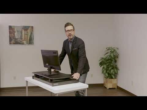 Rocelco EADR2 – Sit Stand Desk Riser
