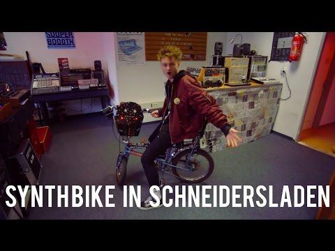 Schneidersladen Meet Synth Bike jamming with #Eurorack