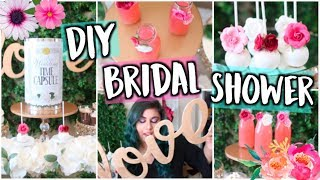 Throw A DIY Pinterest Bridal Shower! Decor, Treats + Gift Ideas!