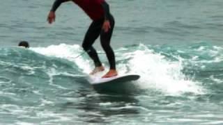 preview picture of video 'SURF TXAPELKETA DEBA 24 10 09'