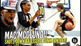 Mac McClung SHUTS DOWN BIL All American Dunk Contest!! Shareef & Miles Too! OSN Judging!!