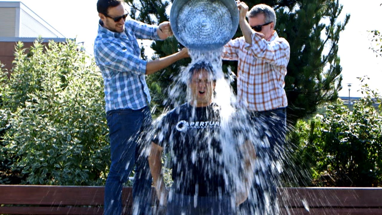 Phil Spencer Takes The Ice Bucket Challenge