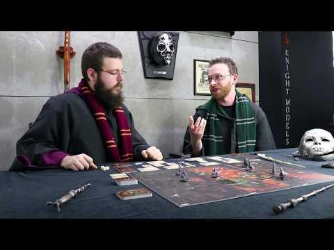 Harry Potter Miniatures Adventure Game / GAMEPLAY PART 1