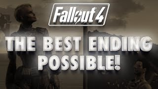 "Fallout 4 Best ""Good Ending"" Possible: Peace between Railroad, Brotherhood and Minutemen"