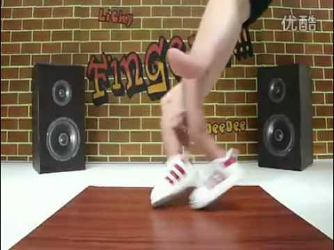 Đỉnh nhảy HipHop bằng ngón tay
