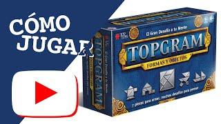 Cómo jugar: Topgram Formas y Objetos | Top Toys