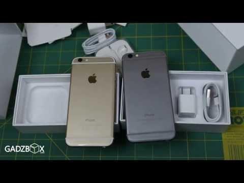 แกะกล่อง iPhone 6 (ไม่ Plus) สีทอง และ สีเทา (16GB)