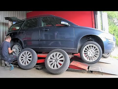 Volvo V50 Rims and Tyres change 16