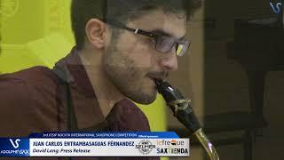 Juan Carlos Entrambasaguas Fernandez plays Press Release by David Lang