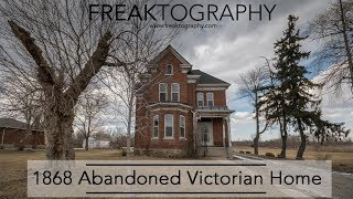Abandoned desolate Victorian Home | Historic Abandoned House | Urban Exploring with Freaktography