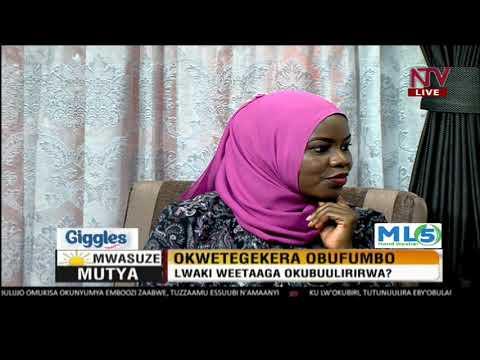 Mwasuze Mutya: Hon Mbwatekamwa akubuulira ku kwetegekera obufumbo
