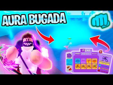 Como Bugar AURA Nova ATUALIZAO Do  ROBLOX  Muscle Legends  MAIO 2021 Bug Visual INCRVEL