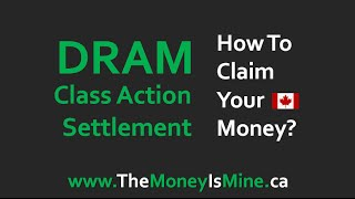 DRAM Class Action Lawsuit Settlement – How to Claim Your Money?
