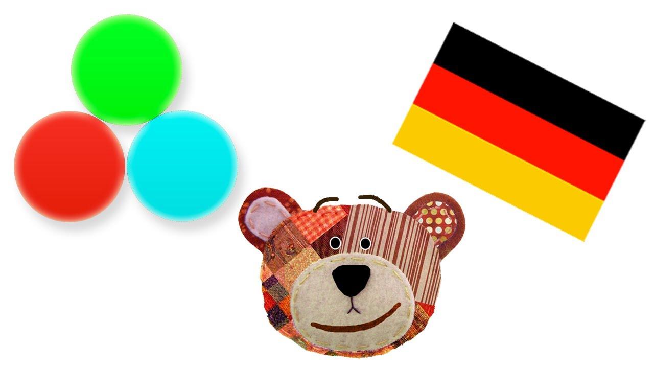 Los colores en alemán - Con Traposo para niños