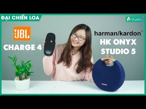 [Đại Chiến Loa] JBL Charge 4 vs HK Onyx Studio 5| Con nào hơn ????