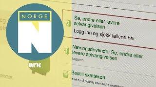 Sjekk Skattemeldingen Din - راجع رسالتك الضريبية
