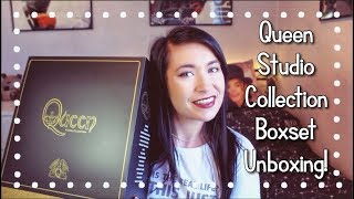Queen Studio Collection Coloured Vinyl Boxset - Unboxing!