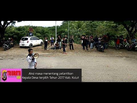 Aksi Protes Warga Jelang Pelantikan Kades Kab. Kolaka Utara