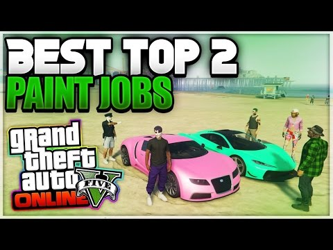 GTA 5 Online 2 SEXY Paint Jobs 1.36! Best Rare Paint Jobs After Patch 1.36 (GTA 5 Secret Paint Jobs)