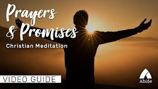 Sleep Meditation: Prayers & Promises (3 Hours)