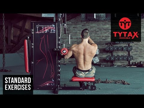 Lever One Arm Lateral Raise | TYTAX® S6