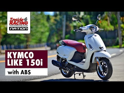 Inside RACING: KYMCO LIKE 150i with ABS