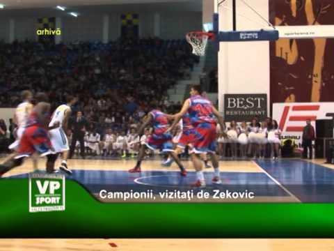 Campionii, vizitati de Zekovic