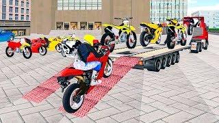 Bike Racing Games - Bike Transport Truck 3D - Gameplay Android free games