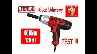 Klucz udarowy HAMRON ( JULA ) 400Nm za 129zł !!! ( TEST ) Czy i jaki klucz warto kupić ??