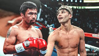 RYAN GARCIA SECURES FIGHT AGAINST MANNY PACQUIAO?