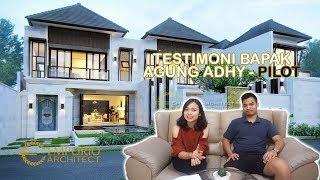 Video Hasil Konstruksi Villa Style Villa Bali 2 Lantai Bapak Agung Adhy di  Ubud, Bali
