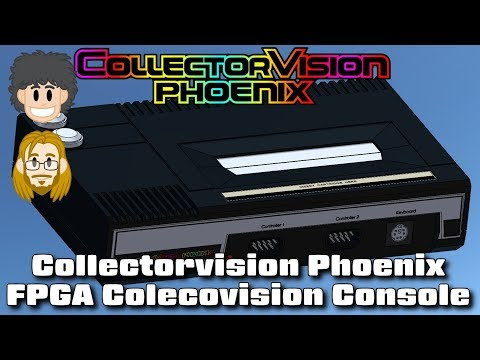 Playing CollectorVision Phoenix with ColecoVision Modded NES