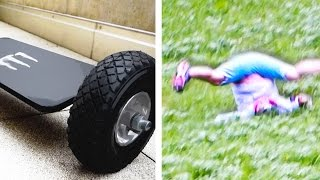 Most Dangerous Homemade Hoverboard Fail