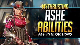 Overwatch Mythbusters - Ashe Abilities & Interactions