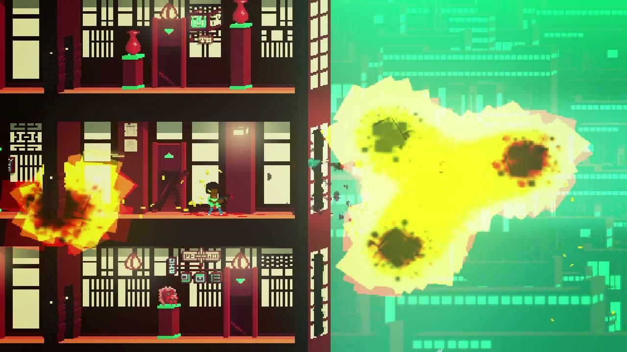 Not A Hero, dai creatori di OlliOlli, arriva su PS4 il mese prossimo