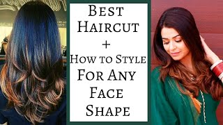BEST HAIRCUT FOR ANY FACE SHAPE: Round, Oval, Heart, Square-How To Style| Gulz_Beauty