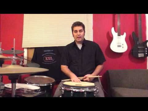 Volume control is a key component to good drumming. This video gives a basic understanding that can be applied to all percussion.