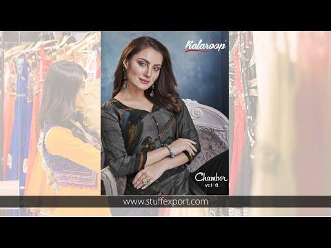 Kessi Kalaroop Chambor Vol-8 Kurti With Bottom Pair Catalog