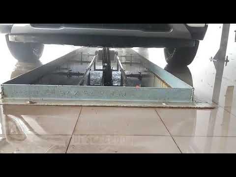 Car Underbody Washing System