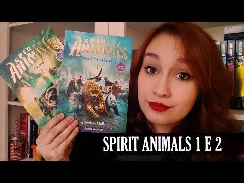 Spirit Animals - Nascidos na Selva e A Caçada (Brandon Mull & Maggie Stiefvater)   Resenhando Sonhos
